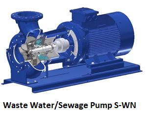Dry Pit Waste Water Sewage Pump