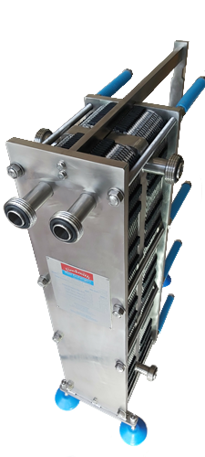 All Stainless Steel Gasketed Plate Heat Exchangers